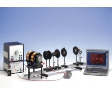 Zeeman effect with electromagnet, CMOS camera including measurement software